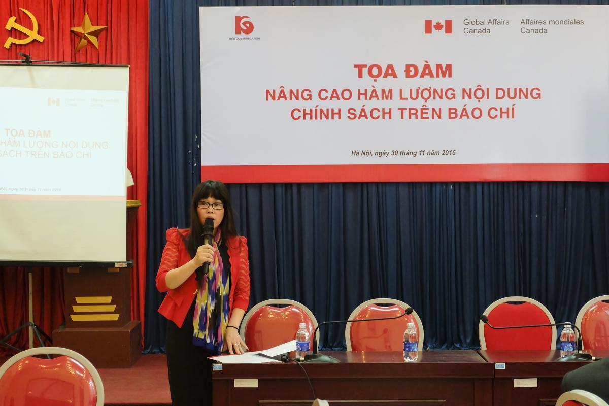 Talkshow Enhancing Policy Content Press
